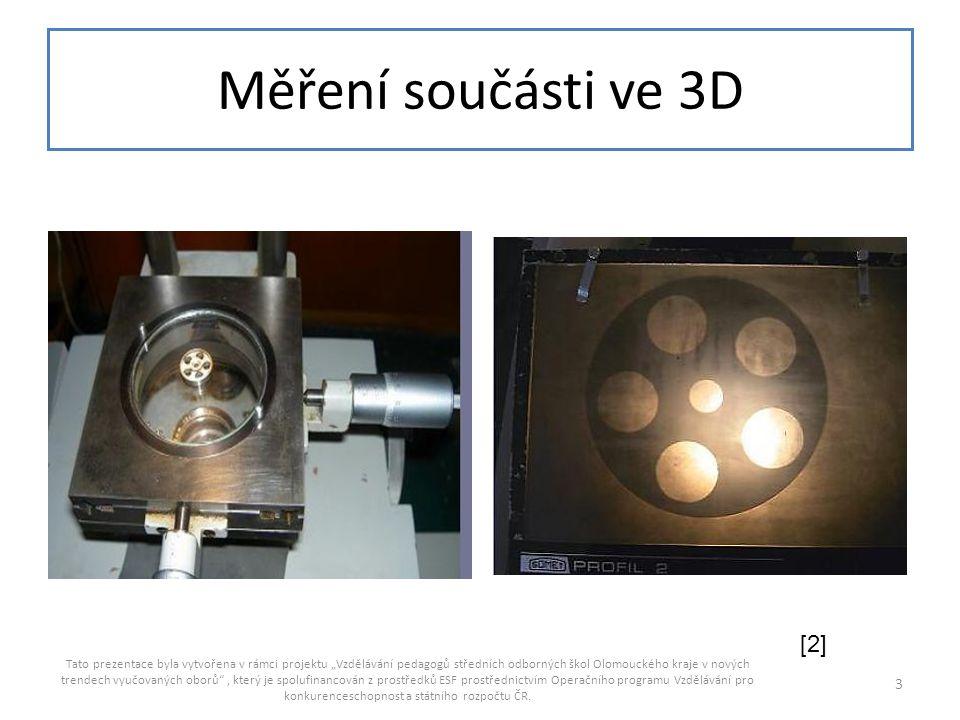 Měření součásti ve 3D [2]